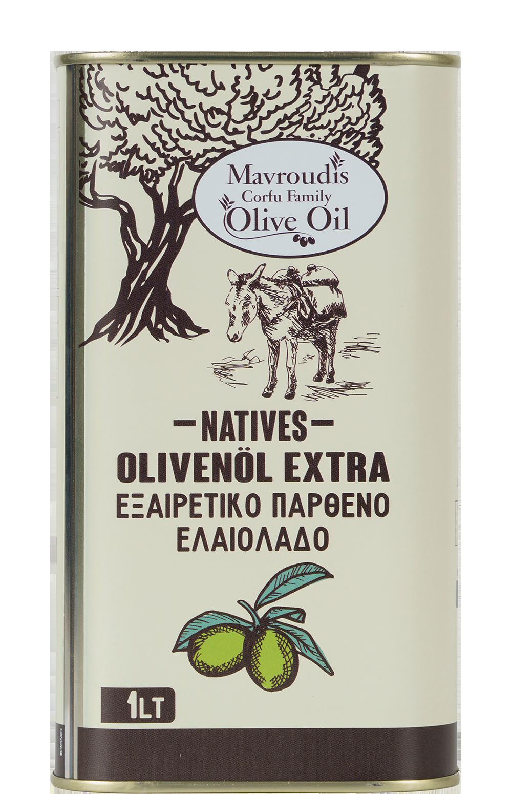 Mavroudis Corfu Family EVOO