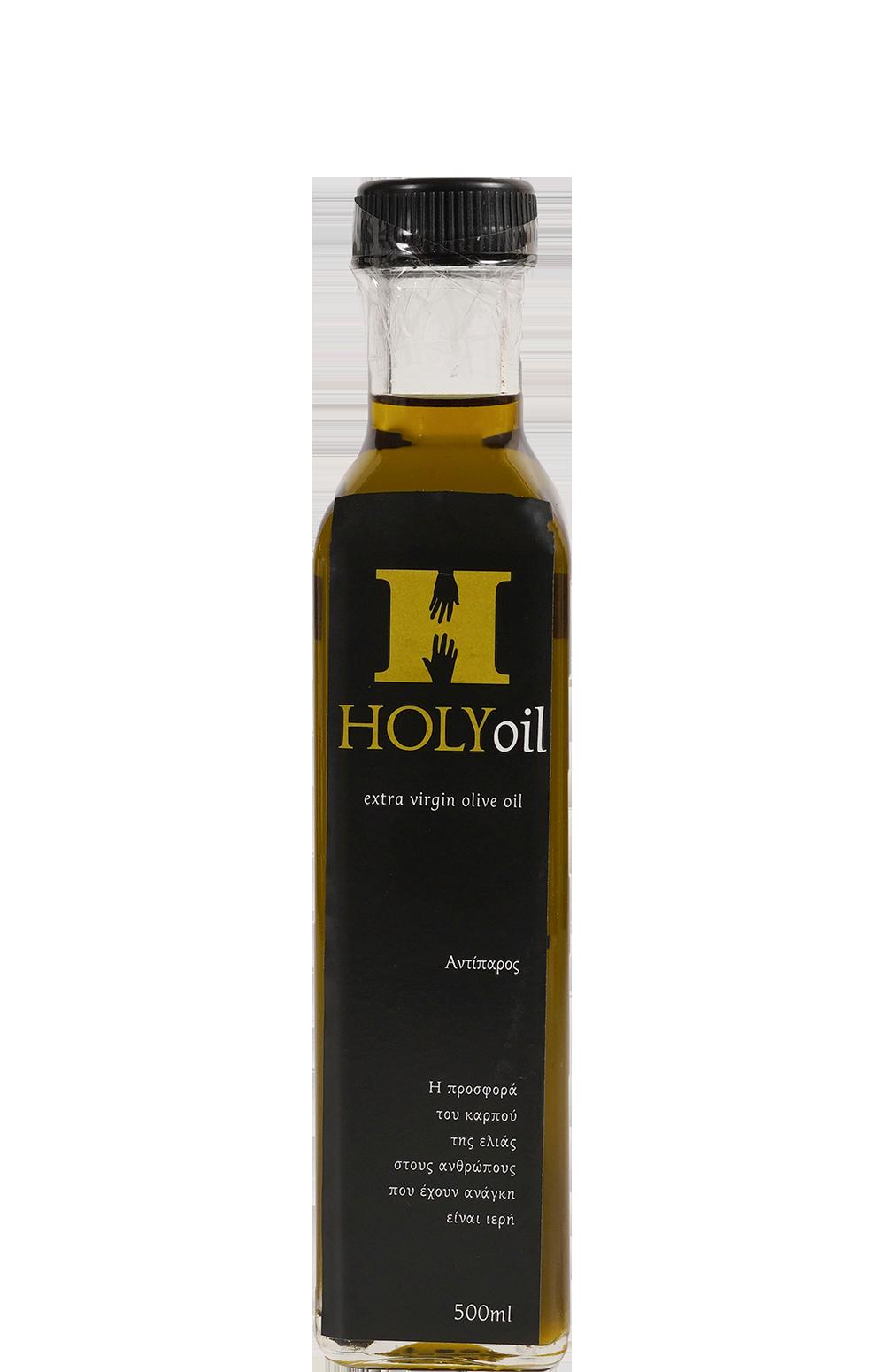 Holy oil