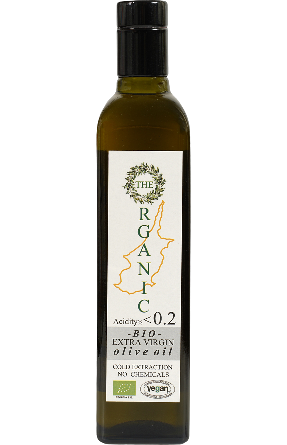 The Organic olive oil