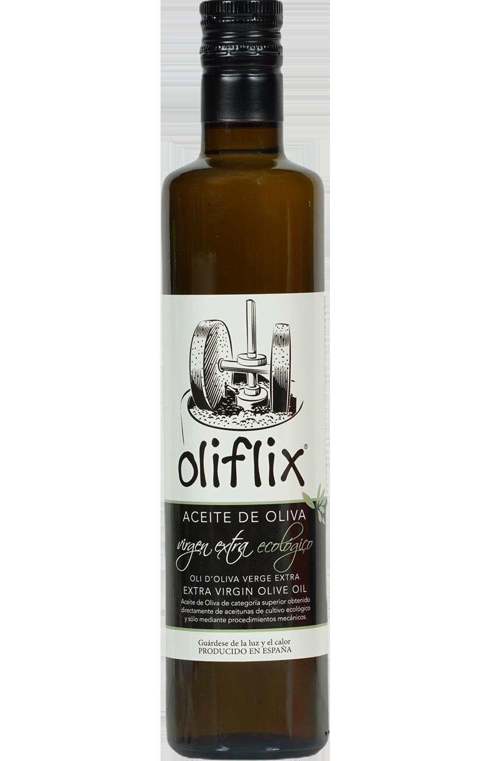 Oliflix Organic Extra Virgin Olive Oil Green On Ripe