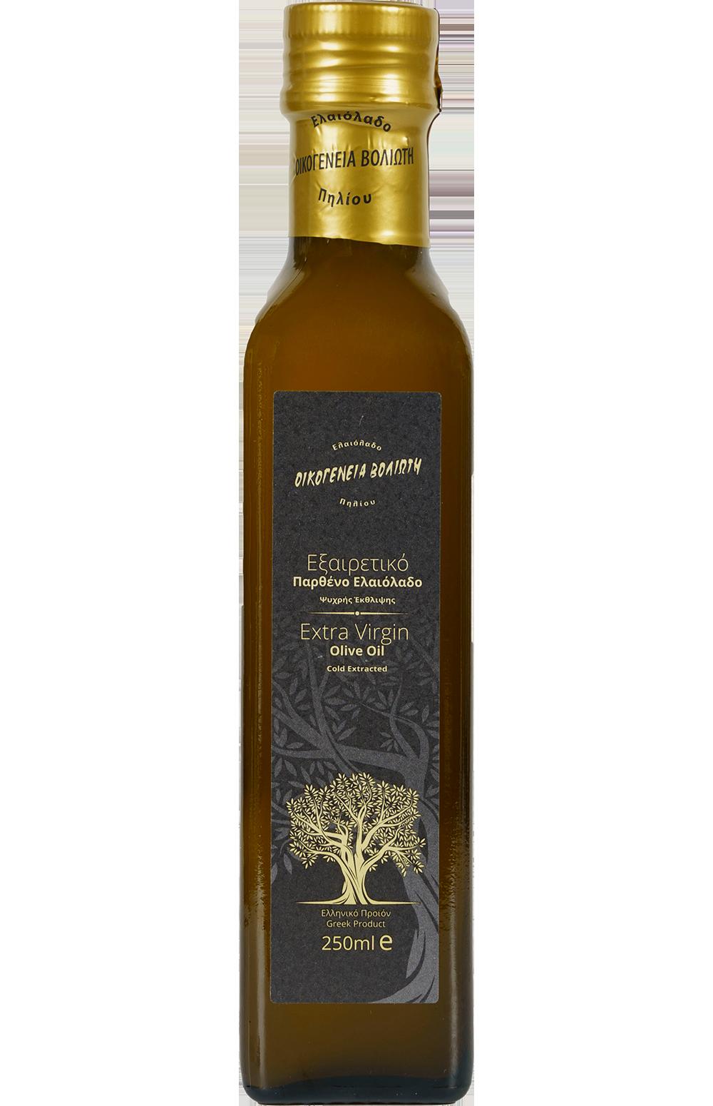Olive oil of Pilion