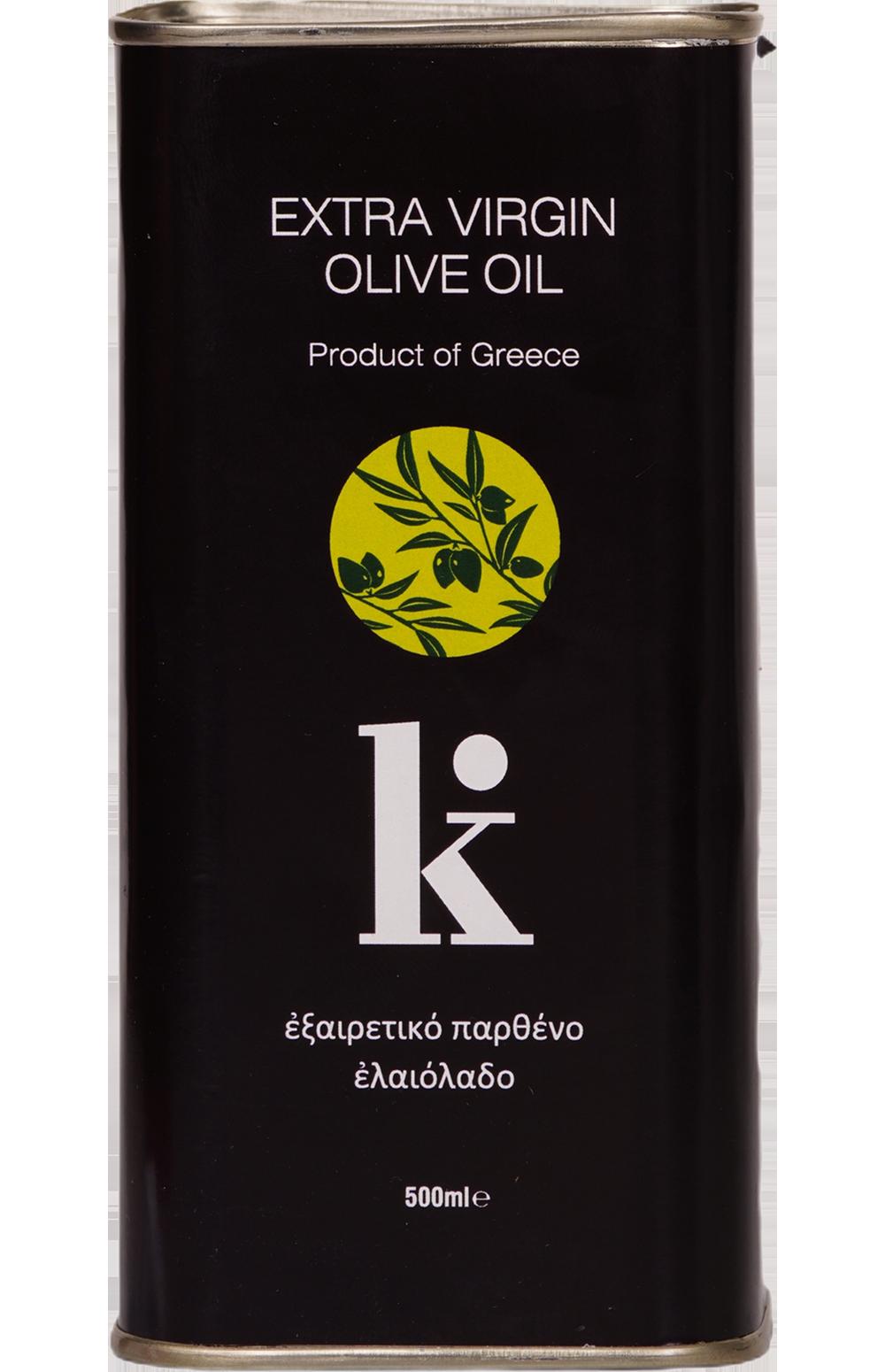 K. Extra Virgin Olive Oil